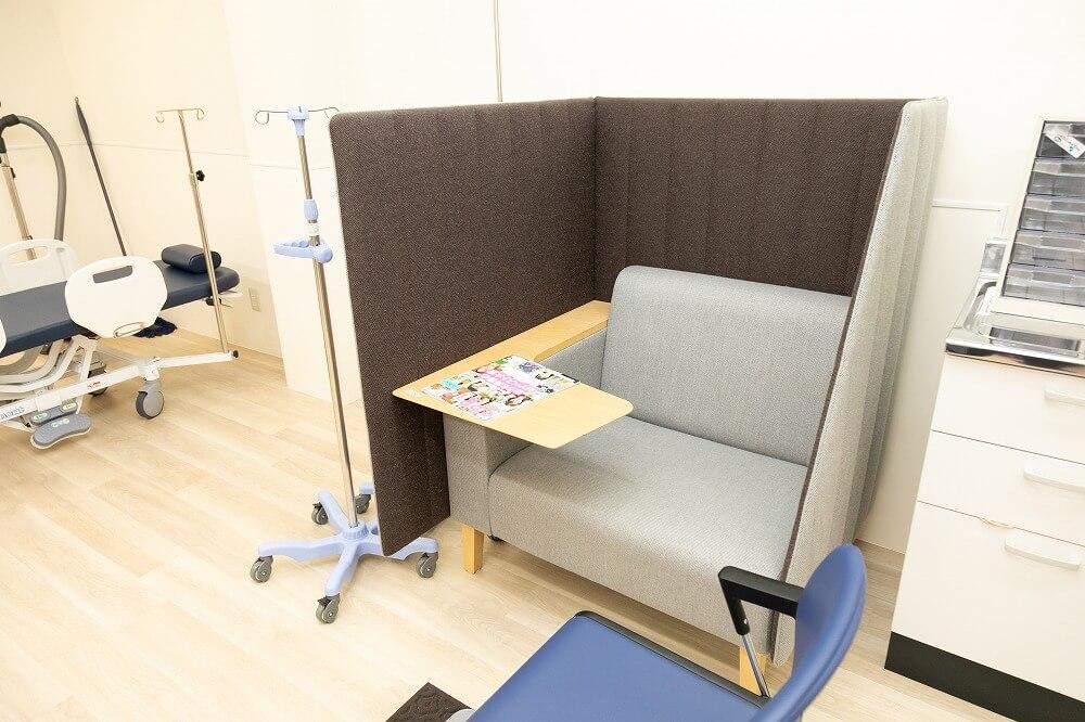 院内下剤処置スペース